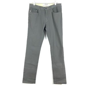 Burton Slim Fit Jeans Stone Gray Sz 32X33 NEW M121